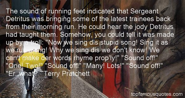 Quotes About Trainees