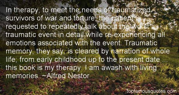Quotes About Traumatic Childhood