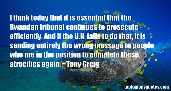 Quotes About Tribunal