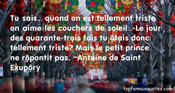 Quotes About Trois