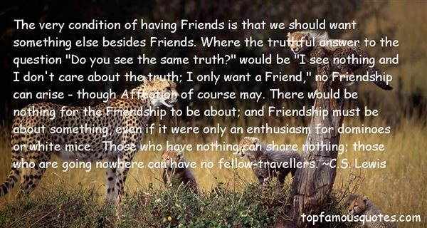 Quotes About Truthful Friends