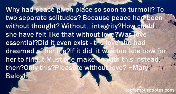 Quotes About Turmoil Of Love