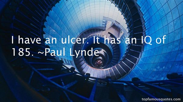 Quotes About Ulcer
