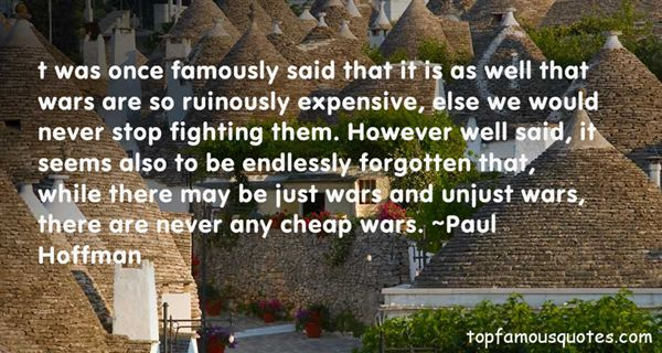 Quotes About Unjust War