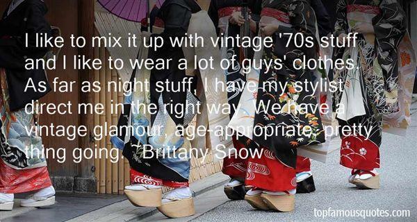Quotes About Vintage Stuff