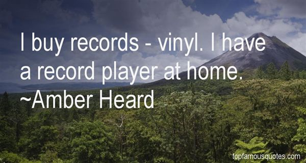 Quotes About Vinyl Home