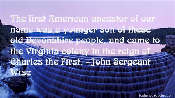 Quotes About Virginia Colony