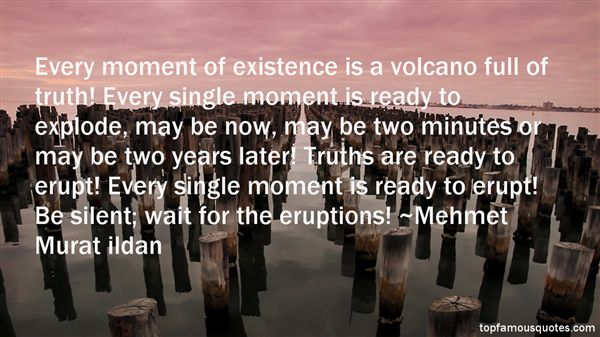 Quotes About Volcano Eruption