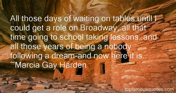 Quotes About Waiting Tables