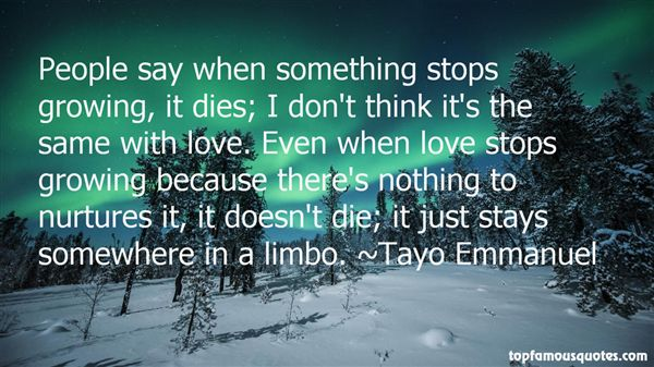 Quotes About When Love Stops