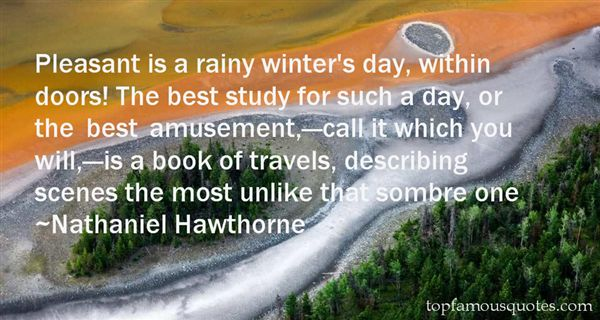 Quotes About Winter Scenes