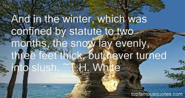 Quotes About Winter Snow