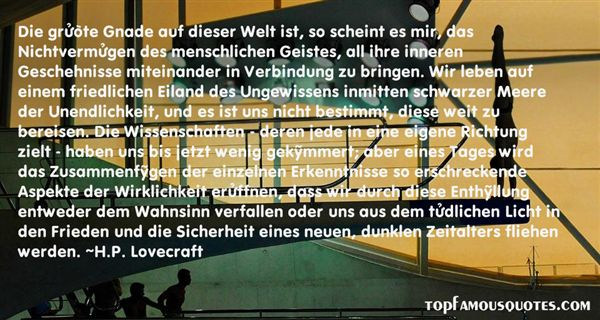 Quotes About Wissenschaft