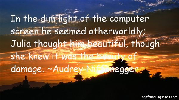 Quotes About Worldly Beauty