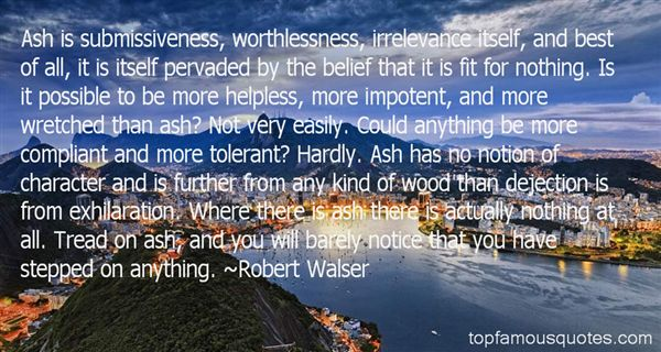 Quotes About Worthlessness
