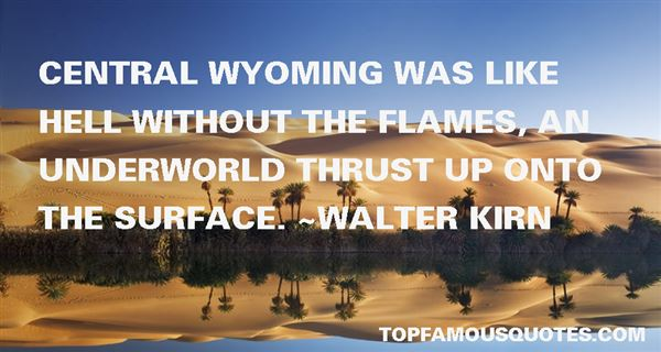 Quotes About Wyoming