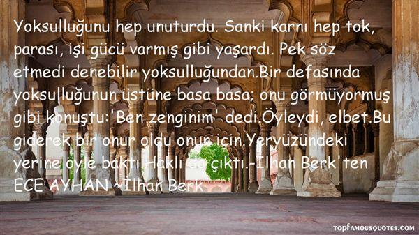 Quotes About Yoksul