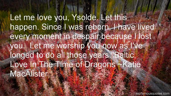 Quotes About Ysolde