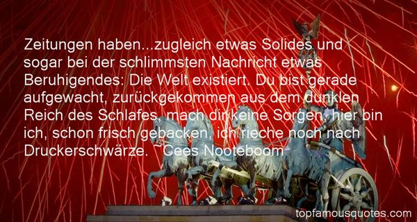 Quotes About Zeitung