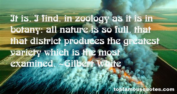 Quotes About Zoology