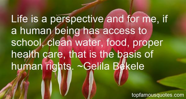Quotes About Access To Water