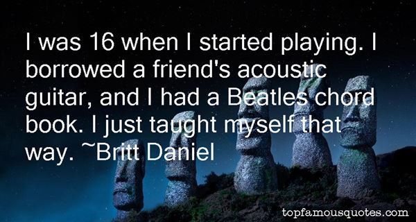 Quotes About Acoustic Guitar
