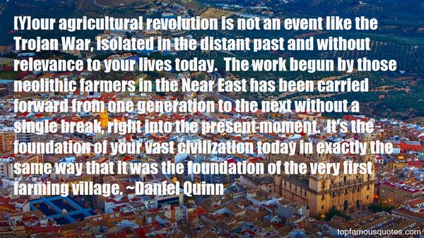 Quotes About Agricultural Revolution