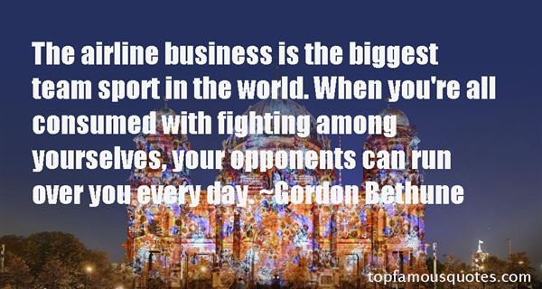 Quotes About Airline Business
