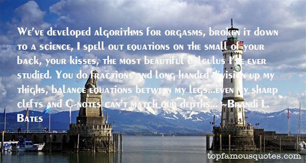 Quotes About Algorithm