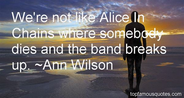 Quotes About Alice In Chains