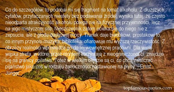 Quotes About Alkohol