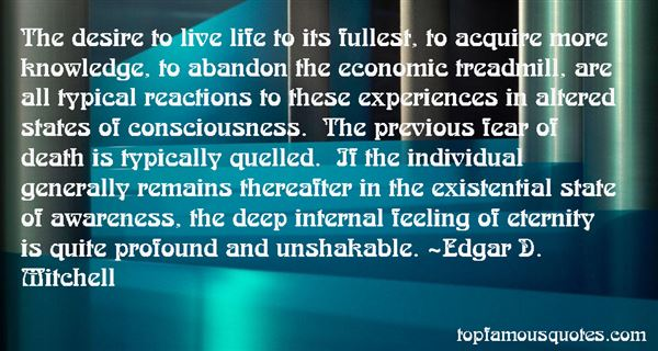 Quotes About Altered States Of Consciousness