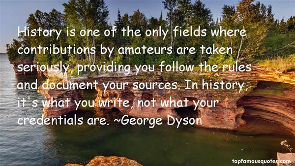 Quotes About Amateurs