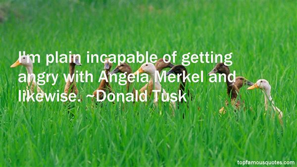 Quotes About Angela Merkel