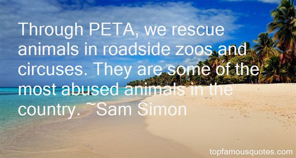 Quotes About Animals In Circuses