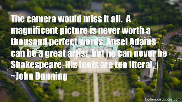Quotes About Ansel Adams