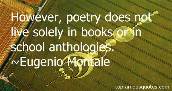 Quotes About Anthologies
