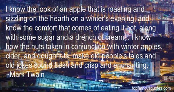 Quotes About Apple Crisp