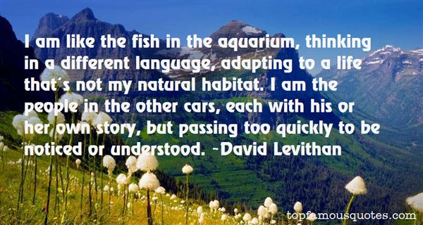 Quotes About Aquarium