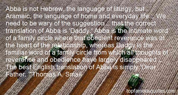 Quotes About Aramaic