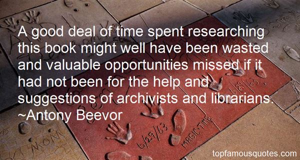 Quotes About Archivists