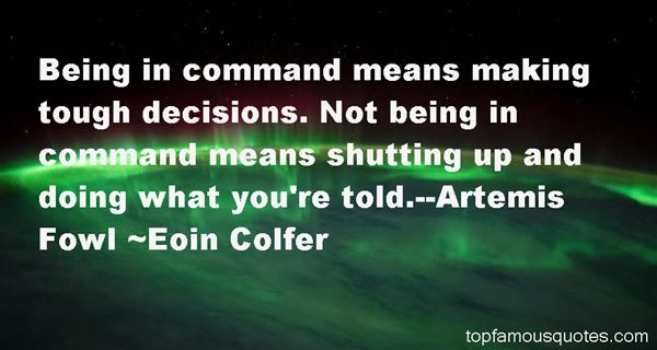 Quotes About Artemis Fowl