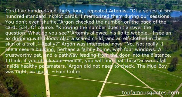 Quotes About Artemis