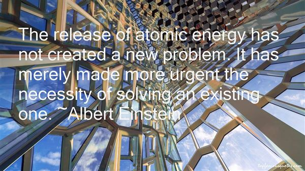Quotes About Atomic Energy