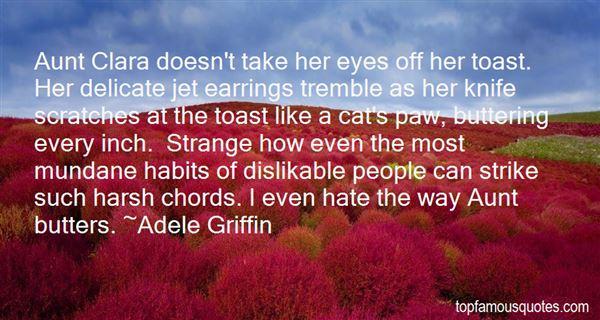 Quotes About Aunt Clara