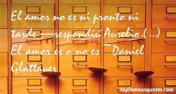 Quotes About Aurelio