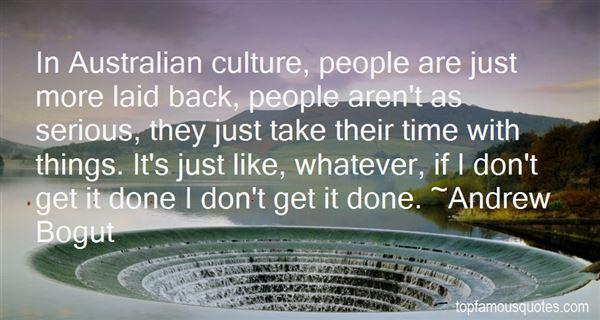 Australian Culture Quo...