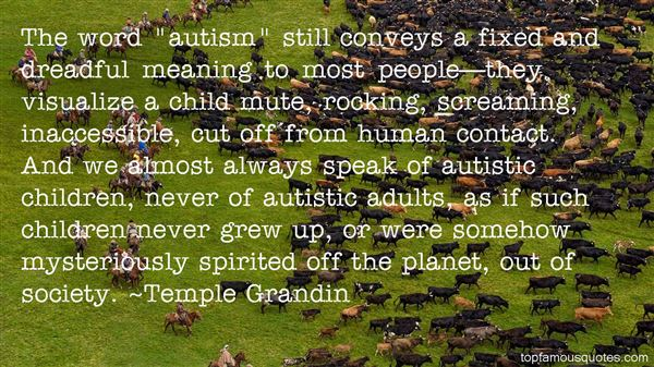 Quotes About Autistic Child