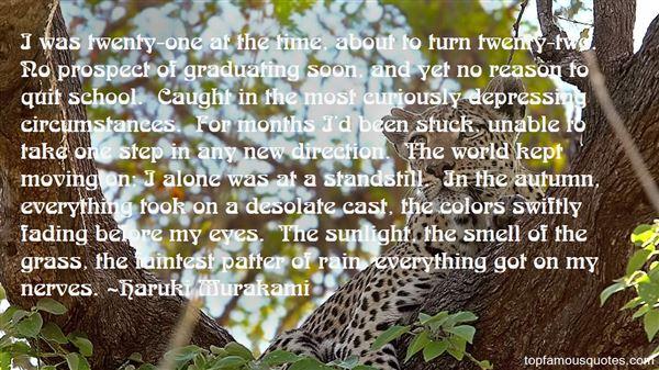 Quotes About Autumn Rain