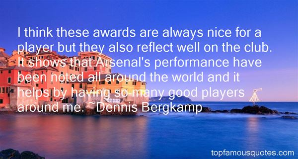 Quotes About Awards Shows